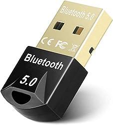 【Bluetooth 5.0 + EDR】: Avec la technologie V5.0 + EDR mise à niveau, notre adaptateur audio sans fil permet une connexion plus stable avec les appareils et atteint une portée allant jusqu'à 50 pieds (15 m) en plein air et jusqu'à 33 pieds (10 m) à l'...