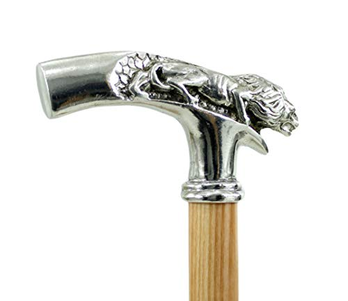 Cavagnini Bastón para regalo de edad avanzada elegante de madera para hombre y mujer ceremonia hecho a mano 100% en Italia (madera de haya)
