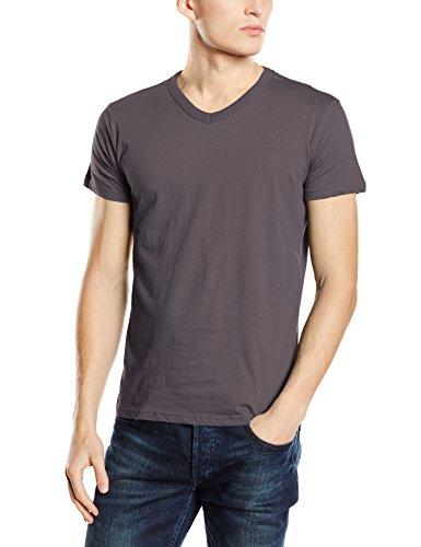 Stedman Apparel Ben (V-Neck)/ST9010 Premium T-Shirt, Gris Ardoise, L Homme