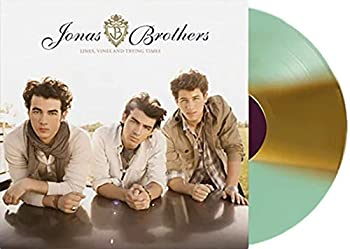 Lines Vines And Trying Times - Exclusive Jonas Brothers Vinyl Club Edition Teal With White Cream Split Vinyl LP