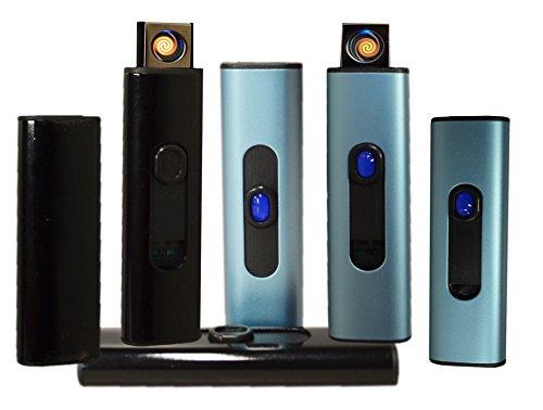 Aansteker Strumfeurzeug USB aansteker elektrisch oplaadbare lichtboog nieuw shabby, zwart