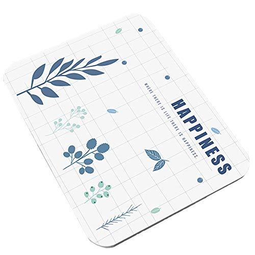 Demarkt Diatomit - Alfombrilla de baño Antideslizante, antibacteriana, Desodorante, Absorbente, diseño de Moda, b, 35 * 45 * 0.9cm