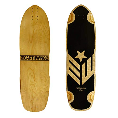 Earthwing Skateboards Longboard Deck Carbon Hoopty 34