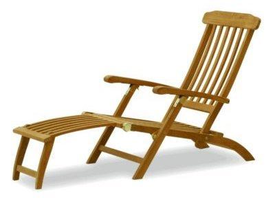 Atlanta Teak Furniture - Teak Reclining Captain's Chair - Grade-A