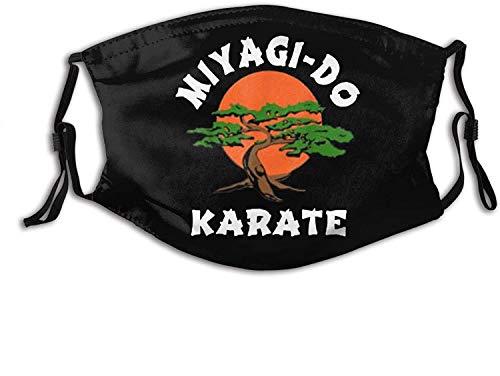 wanglinbin11 Unisex Nase Mund Staubschutz Miyagi-Do Karate Lustige Karate Live verstellbare Mundschutz