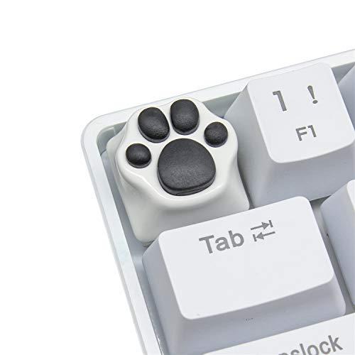 Keycap ESC de Garras del Gato Hecho a Mano de Goma-Metal Teclas Personalizadas para...