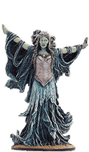 Lord of the Rings Senor de los Anillos Figurine Collection Nº 52 Galadriel Possessed