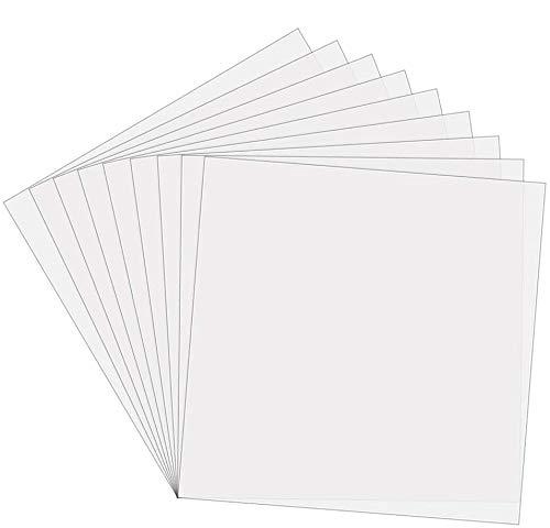 Sopplea: Mylar-Schablonenblätter, 15 Stück, 30,5 x 30,5 cm, ideal zur Verwendung mit Silhouette-Maschinen.