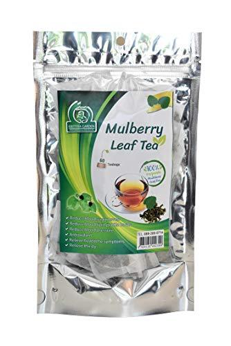 Organic White Mulberry Leaf Tea 60-Teabags (Morus Alba)