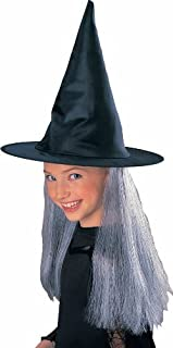 Rubies Child's Witch Hat with Grey Hair [並行輸入品]