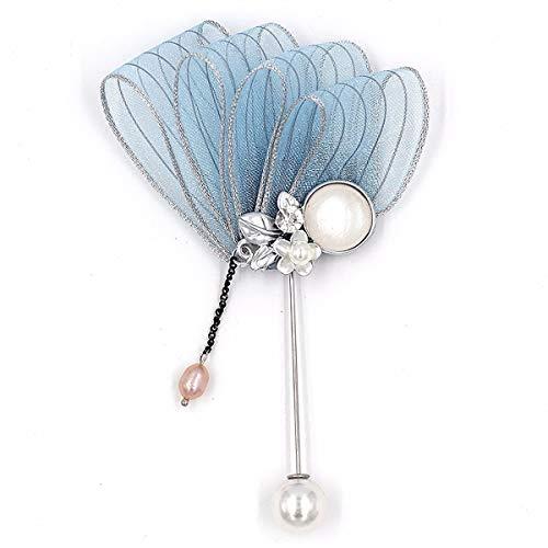 Mijn Droom Dag Elegante Pin Zijde Garen Bloemen Kwaliteit Glanzende Mode Mooie Broche Pins Rugzakken Jurk Accessoires