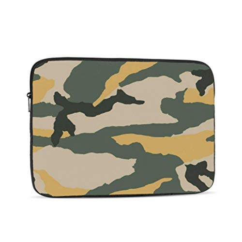 Laptop Hard Shell Case Camouflage Protective Military Cool Style Mac Book Case Multi-Color & Size Choices10/12/13/15/17 Inch Computer Tablet Briefcase Carrying Bag