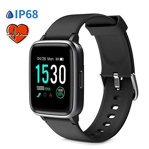 Glymnis Smart Watch Fitness Tracker IP 68 Waterproof Fitness Watch Activity Tracker with 1.3