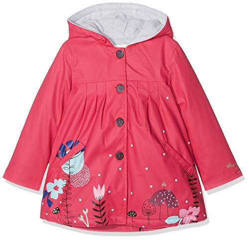 Catimini Mädchen CP42013 GOMME Regenjacke, Pink (Fuchsia 35), 3 Jahre