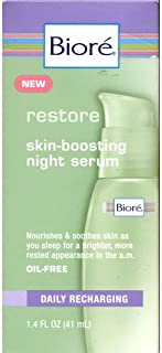 Biore Skin Boosting Night Serum 1.4 fl oz (41 ml)