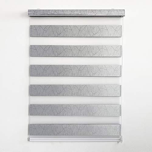WeXi Blinds for Windows , Zebra Roller Blinds & Shades , Zebra Window Blinds Room darking Roller Blinds for Sliding Door