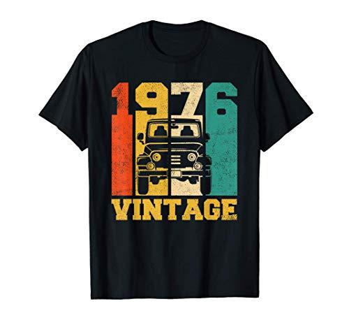 Regalos de 45 años Vintage Offroad 4x4 1976 45 cumpleaños Camiseta
