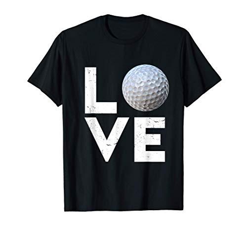 Golfer Golf Love Golf Ball Handicap Gift T-Shirt
