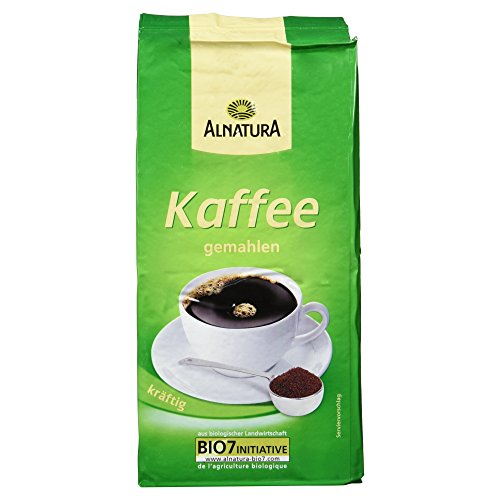 Alnatura Bio Kaffee, gemahlen, 500g