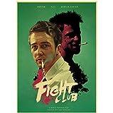 Klassischer Film Fight Club Poster Kraftpapier Retro-Stil