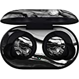 Skinit Decal Audio Skin for Galaxy Buds - Officially Licensed Skinit Originally Designed Black and White Marble Ink Design