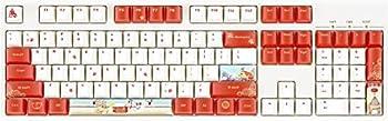 COSTOM Keycaps - Dye Sublimation PBT Keycaps Keyset OEM Profile Upgrade 108 Keycap Set with Puller for DIY 61/87/104 MX Switches Mechanical & Optical Gaming Keyboard  Rat-Limited