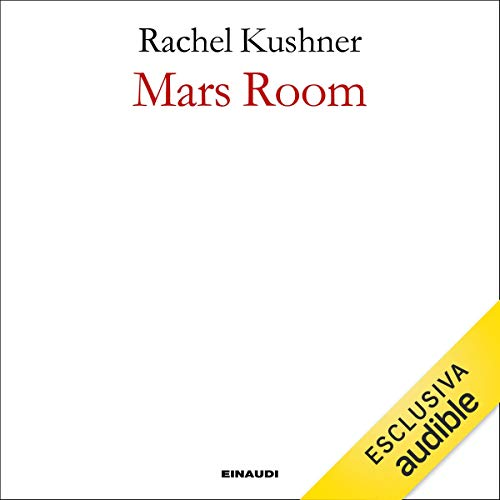 Mars room audiobook cover art