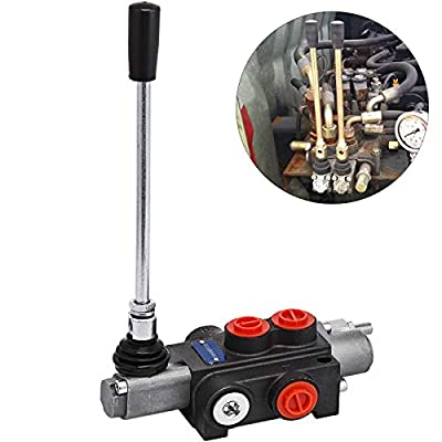 Mophorn 1 Spool Hydraulic Directional Control Valve 11gpm Double Acting Cylinder Spool from Mophorn