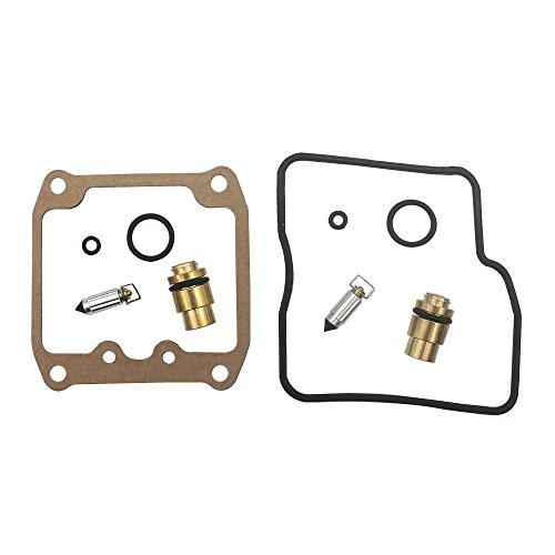 KIPA Carburetor Rebuild repair kit for SUZUKI VS800GL INTRUDER 800 1992-2004 VS800 BOULEVARD S50 2005-2009 VZ800 MARAUDER 800 1997-2004 VS1400 INTRUDER 1400 1993-2004 VS1400 BOULEVARD S83 2005-2009