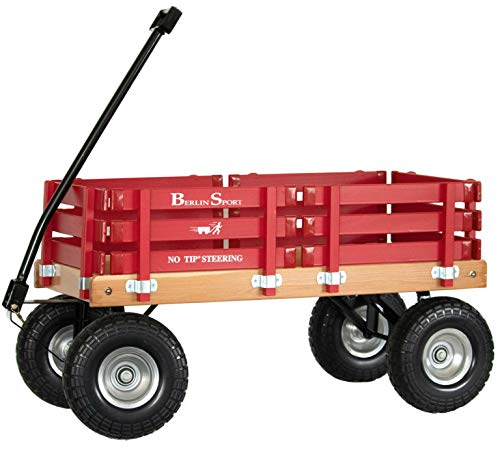 Product Image of the Berlin Flyer Sport Wagon - Model F410 - Amish Made in Ohio, USA - 10' No-Flat...