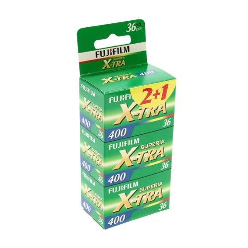 Fuji Superia X-TRA 400-36 Film (Farbe, 3er Pack)