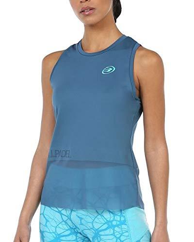 Bullpadel Camiseta Isobel, Mujer, Azul Lavado, S