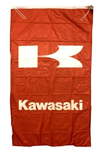 Cyn Flags KAWA-SAKI ROT Fahne Flagge VERTIKAL 5 X 3 ft