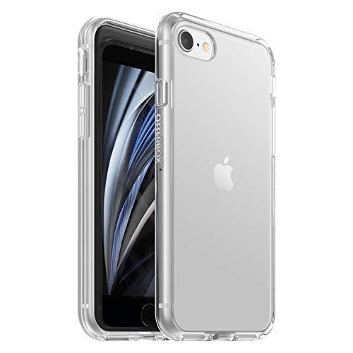 OtterBox Sleek Case funda anticaídas fina para iPhone SE(2020)/8/7, Sin Embalaje, Transparente