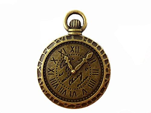 【HARU雑貨】金古美 ミール皿 1枚 1個/懐中時計 時計/レジンアクセサリー 66