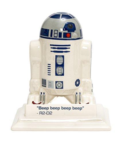 Joy Toy 21353 - R2D2 3D-Figur aus Keramik auf Basis Spardosenfunktion in Geschenkpackung, 14 x 18 x 21 cm
