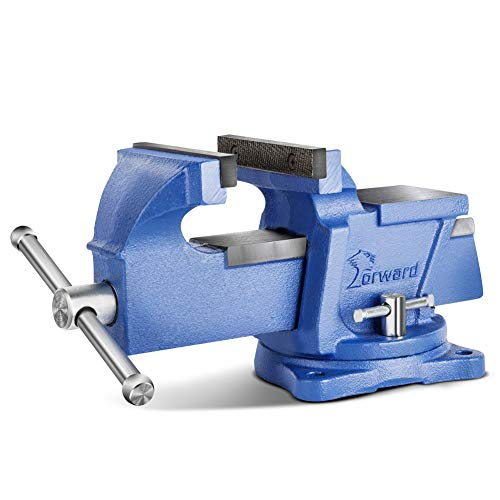 Forward 0804 4-Inch Bench Vise with Swivel Base and Anvil (4')