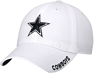 152debc2b Amazon.com  White - NFL   Baseball Caps   Caps   Hats  Sports   Outdoors