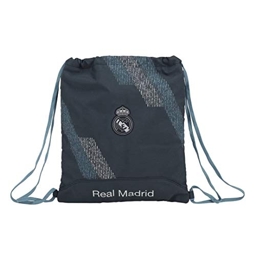 safta SF-611834-196 Saco Plano Real Madrid, Unisex Adulto, Azul, 40