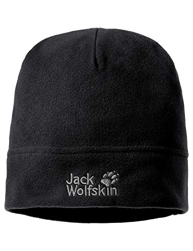 Jack Wolfskin Real Stuff Unisex Mütze, Schwarz (Black), One Size, 19590