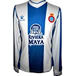 KELME Espanyol RCD Home 1A Equipacio Futbol Camiseta 2019-2020 (S)