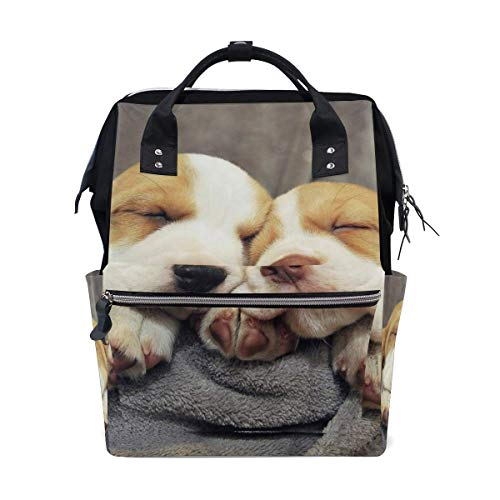 Flower School Backpack Large Capacity Mummy Bags Laptop Handbag Casual Travel Rucksack Satchel for Women Men Adult Teen Children