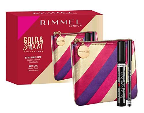 Rimmel London Rimmel London Coffret cadeau Femme Gold & Shock Collection Extra Super Lash Kit - 210 g