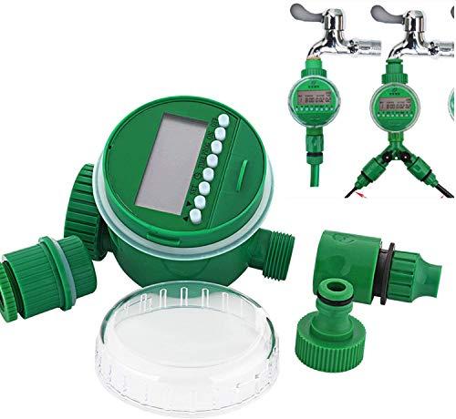 HunterBee Outlet tubo flessibile programmabile per acqua timer / irrigazione automatica, impermeabile per giardino prato e esterno