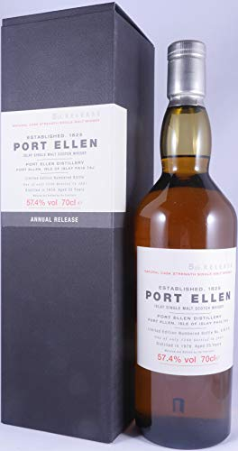 Port Ellen (silent) - 5th Release - 1979 25 year old Whisky