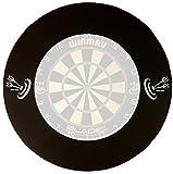 roleo Dart Auffangring Catchring Surround schwarz 4-teilig -