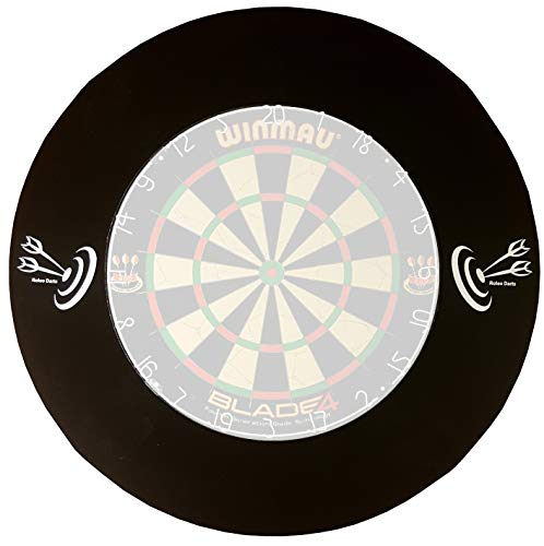 Roleo Dart Catchring Auffangring Surround schwarz Darts