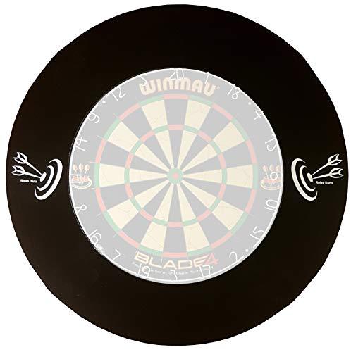 roleo Dart Auffangring Catchring Surround schwarz 4-teilig