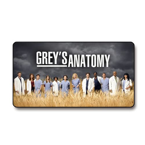 Greys Anatomy Mouse Pad Multipurpose Comfortable Waterproof Mousepad Desk Mat for Gamer Office Home(15.8x29.5 in)