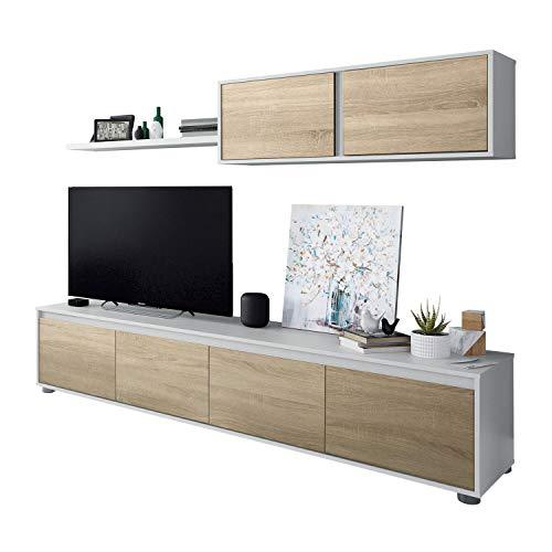 Mueble de Salon Moderno, Modulos Comedor, Modelo Alida,...